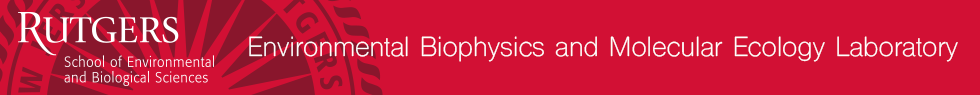 Environmental Biophysics and Molecular Ecology